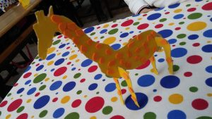 Giraffe craft ideas for firtstgraders