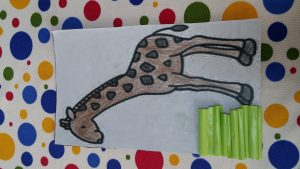 Giraffe craft ideas for kindergartners