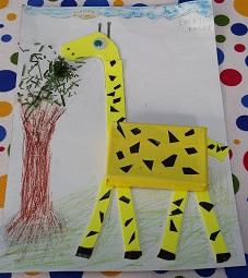 Giraffe craft ideas for preschool and kindergarten