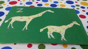 Giraffe craft ideas for preschool and kindergartner