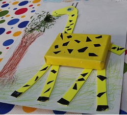 Giraffe craft ideas for preschool kindergarten