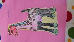Giraffe craft ideas for toddlers