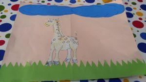 Giraffe craft ideas preschool and kindergarten