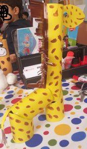 Giraffe craft ideas toilet paper roll for preschool