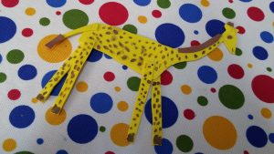 Kindergartner craft ideas related to giraffe