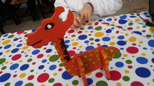 Kindergartner craft ideas related to giraffe - free ideas