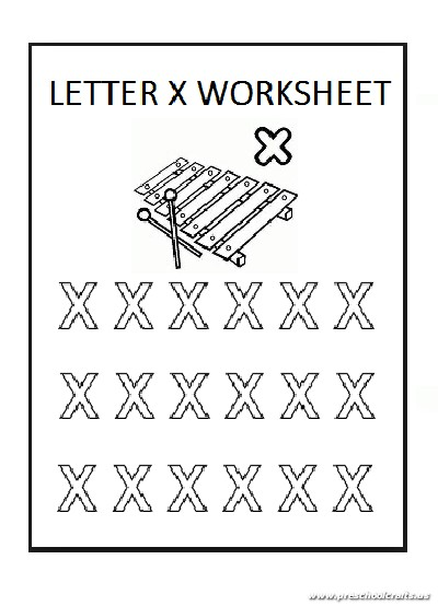 lowercase letter x coloring sheet for preschool preschool crafts. Black Bedroom Furniture Sets. Home Design Ideas
