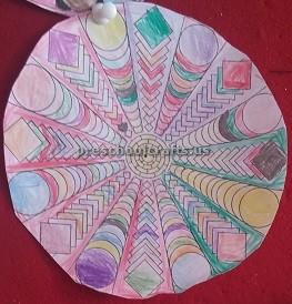 Simple Mandala Art Activities for kids