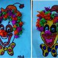 clown craft idea for kids