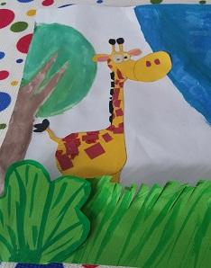 enjoy giraffe craft ideas for preschooler