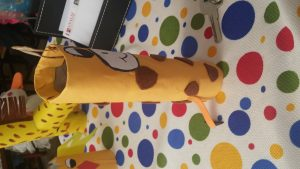 giraffe craft toilet paper roll