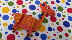 giraffe kindergarten craft ideas