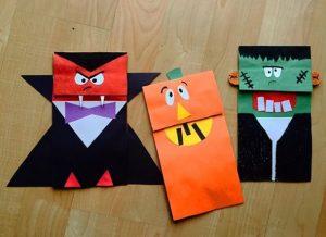 paper bag halloween craft ideas for kids