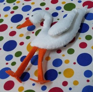 stork craft ideas preschool