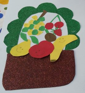 Fruit basket craft ideas for preschool and kindergarten