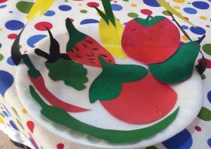 Fruit plate craft ideas for preschool and kindergarten