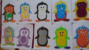 Penguin bulletin board ideas for preschool