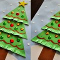 easy christmas tree craft idea for preschoolers