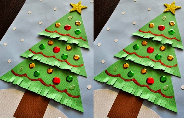 Christmas Tree Crafts for Preschool