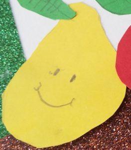 pear craft ideas for preschool and kindergarten