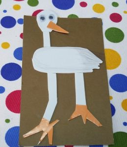 preschool paper plate stork craft ideas