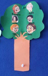 tree craft idea for preschool kindergarten