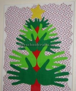 Celebration christmas tree craft ideas for toddler