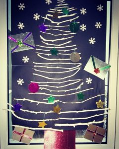 Celebration christmas tree craft preschool and kindergarten