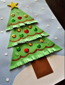 Christmas tree craft ideas for kids