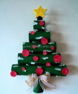 Christmas tree craft ideas for preschool and kindergarten