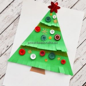 Christmas Tree Craft Ideas Preschool And Kindergarten