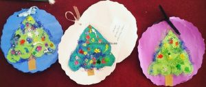 Happy New Year Tree Craft ideas for preschool and kindergarten