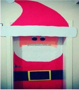 Happy New Year door craft idea