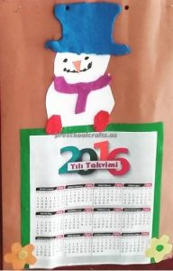 New Year Calender Craft Ideas for preschool