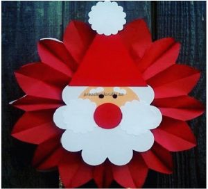 Santa claus craft ideas for preschooler and kindergaartner