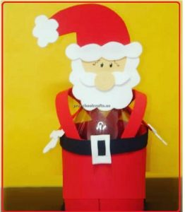 chrismas noel santa claus craft ideas for kindergarten and preschool