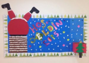 christmas bulletin board ideas for preschool