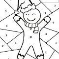 christmas cookies color free printable worksheets for preschool