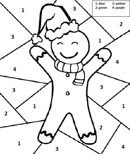 Christmas Free Worksheets For Kids Preschool And Kindergarten