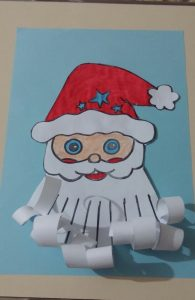 christmas preschool fun craft idea