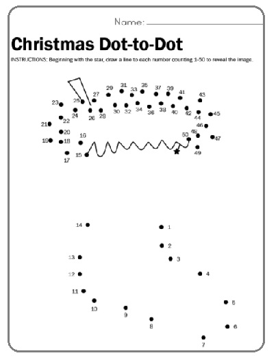 christmas worksheets for preschool - Holiday Worksheets For Preschool