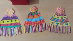 easy fun winter hat yarn kids crafts
