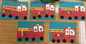 fire engine craft ideas for preschool and kindergarten