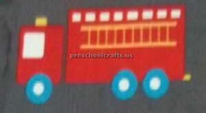 fire truck craft ideas for preschool and kindergarten
