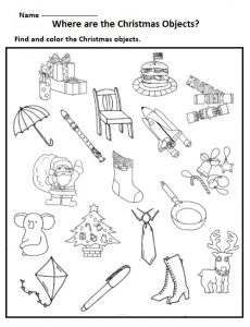 free printable christmas worksheets for kids