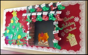 fun christmas first grade bulletin boards