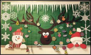 fun christmas preschool bulletin boards
