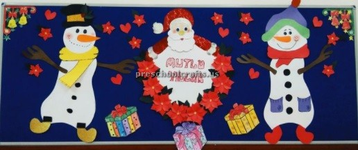 Happy New Year Bulletin Board Ideas for Preschool and ...