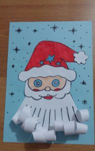 how to make santa claus craft for kids