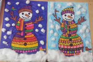 printable free snowman craft for kids